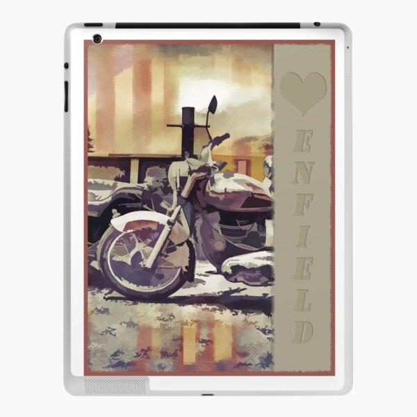 Love Heart Royal Enfield In Goa iPad Skin
