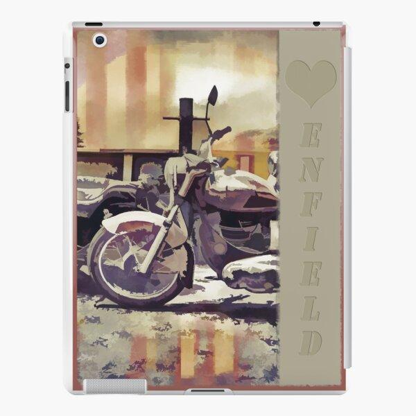 Love Heart Royal Enfield In Goa iPad Snap Case