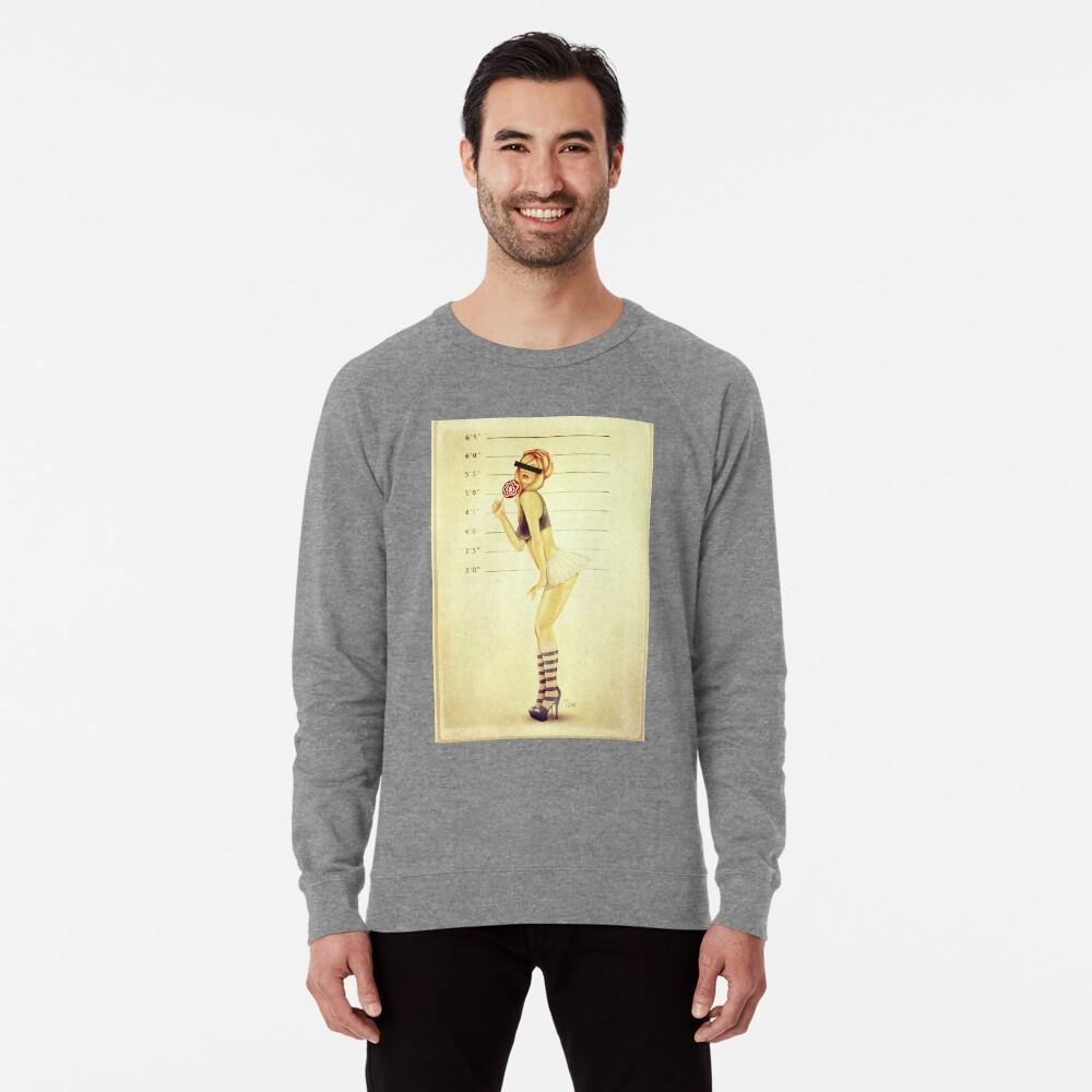 Pin Up Mugshot Lightweight Sweatshirt