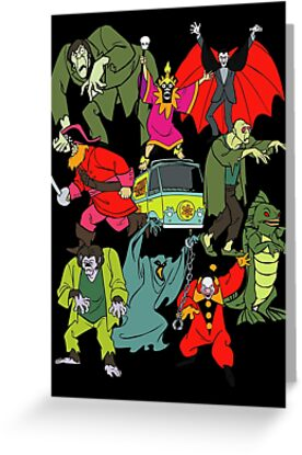 Scooby Doo Villians by astropop