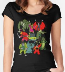 Scooby Doo Villians Women's Fitted Scoop T-Shirt