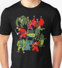 Scooby Doo Villians Slim Fit T-Shirt