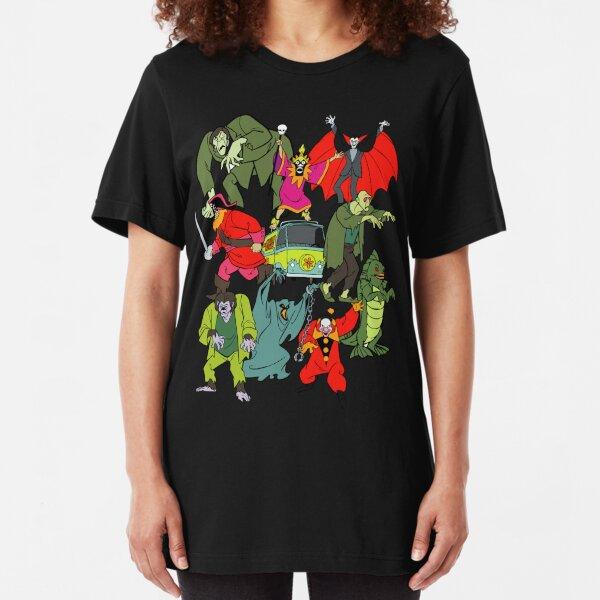 Scooby Doo Villians Slim Fit T-Shirt