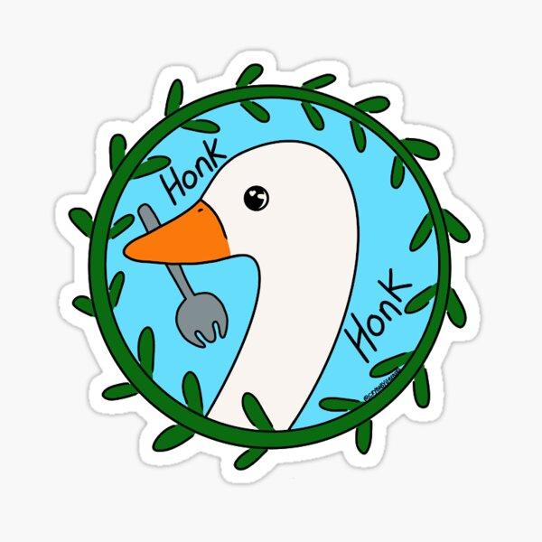 Goose (English) Sticker
