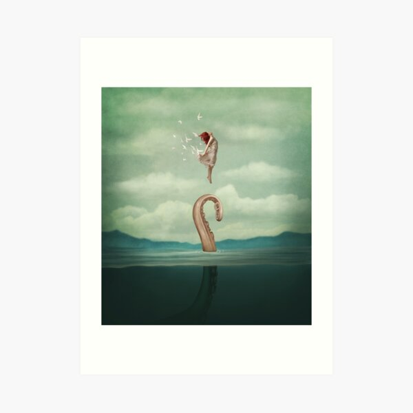 uncontained Art Print