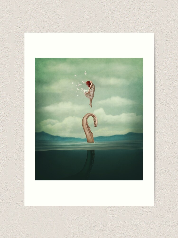 Alternate view of uncontained Art Print