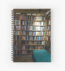 Cuaderno de espiral Walls of books