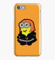 Minvengers - Yellow Widow iPhone Case/Skin