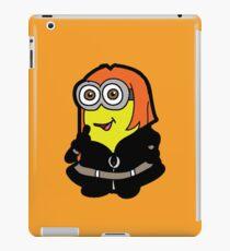 Minvengers - Yellow Widow iPad Case/Skin