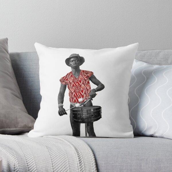Funki Snare Man Throw Pillow