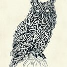 Owl  by mikekoubou