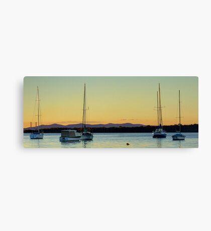 Gone sailin... Canvas Print