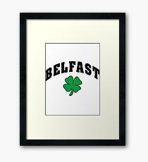 Belfast Irish Framed Print