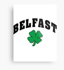 Belfast Irish Metal Print