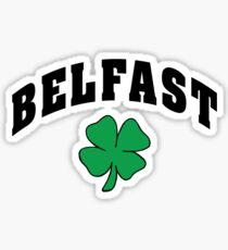 Belfast Irish Sticker