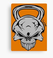 Skull Weight  Canvas Print