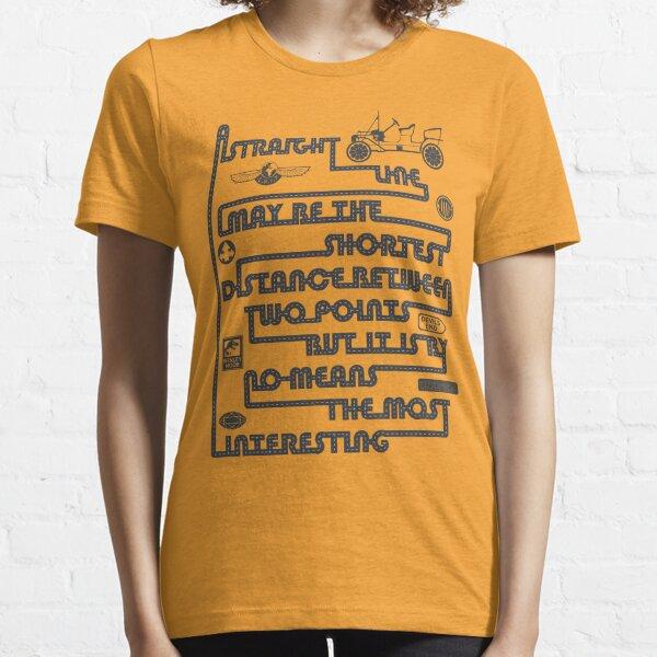 A Straight Line Essential T-Shirt