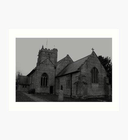 St martins Church Art Print