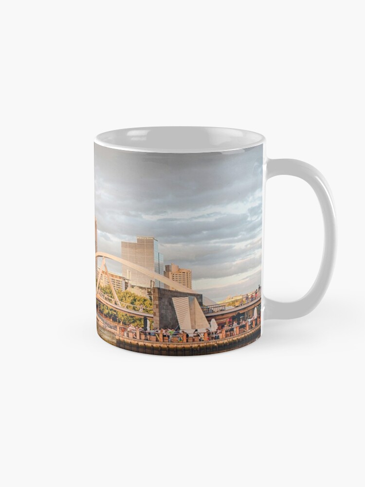 Alternate view of Pastel Melbourne Mug