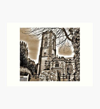 St Andrews Church Art Print