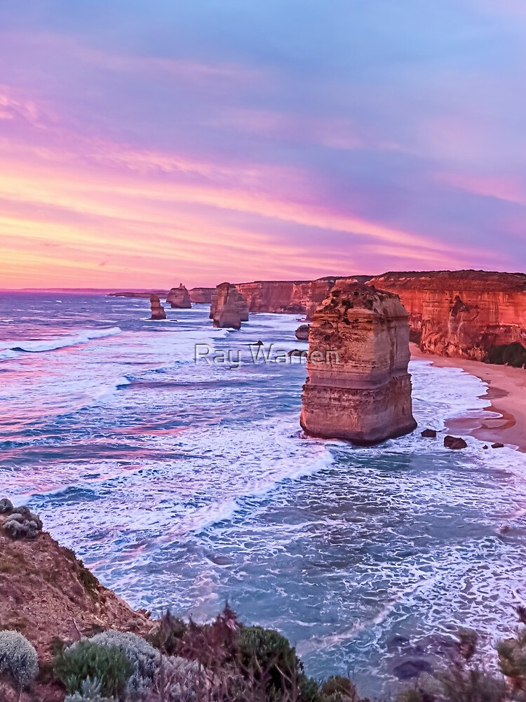 12 Apostles at Sunset II by RayW