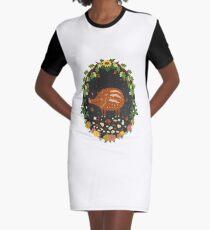 Teddy boar Graphic T-Shirt Dress