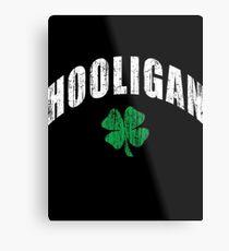 Irish Hooligan Metal Print