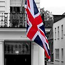 Great Britain Flag by Darrell-photos