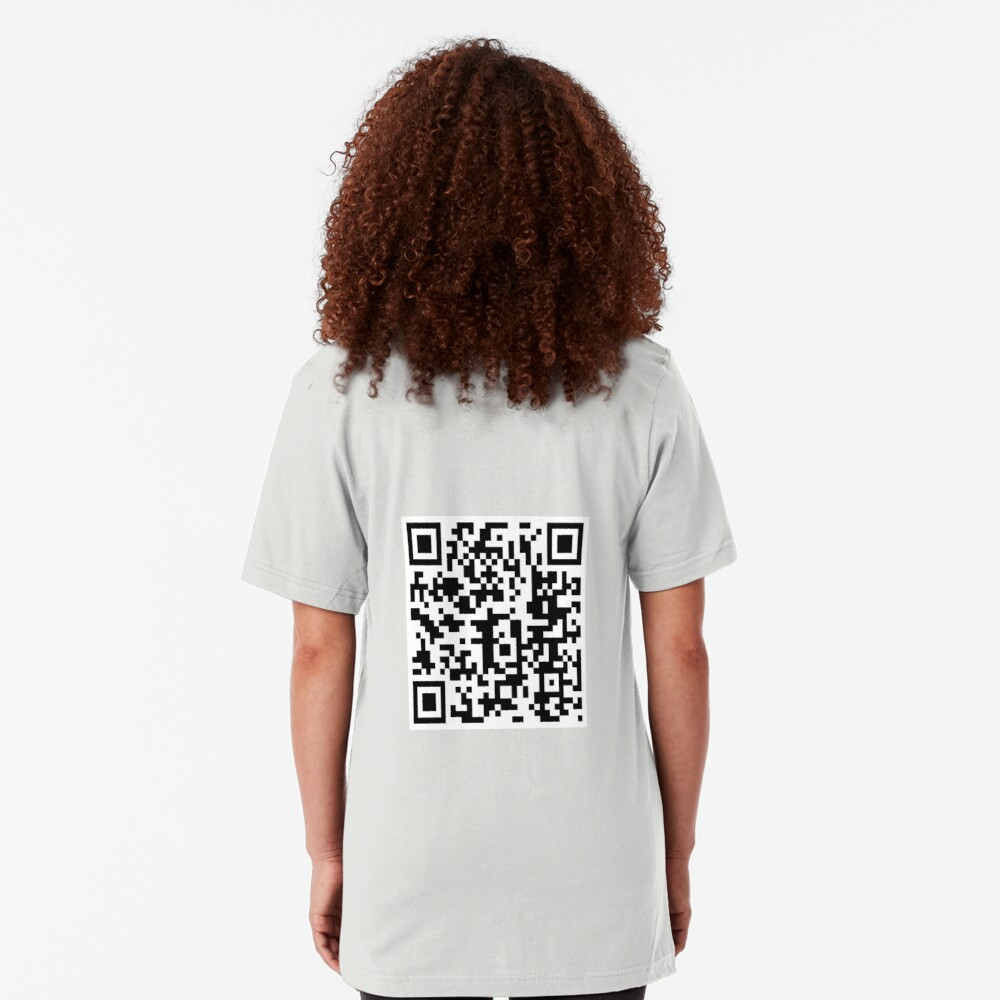 QR Code Slim Fit T-Shirt