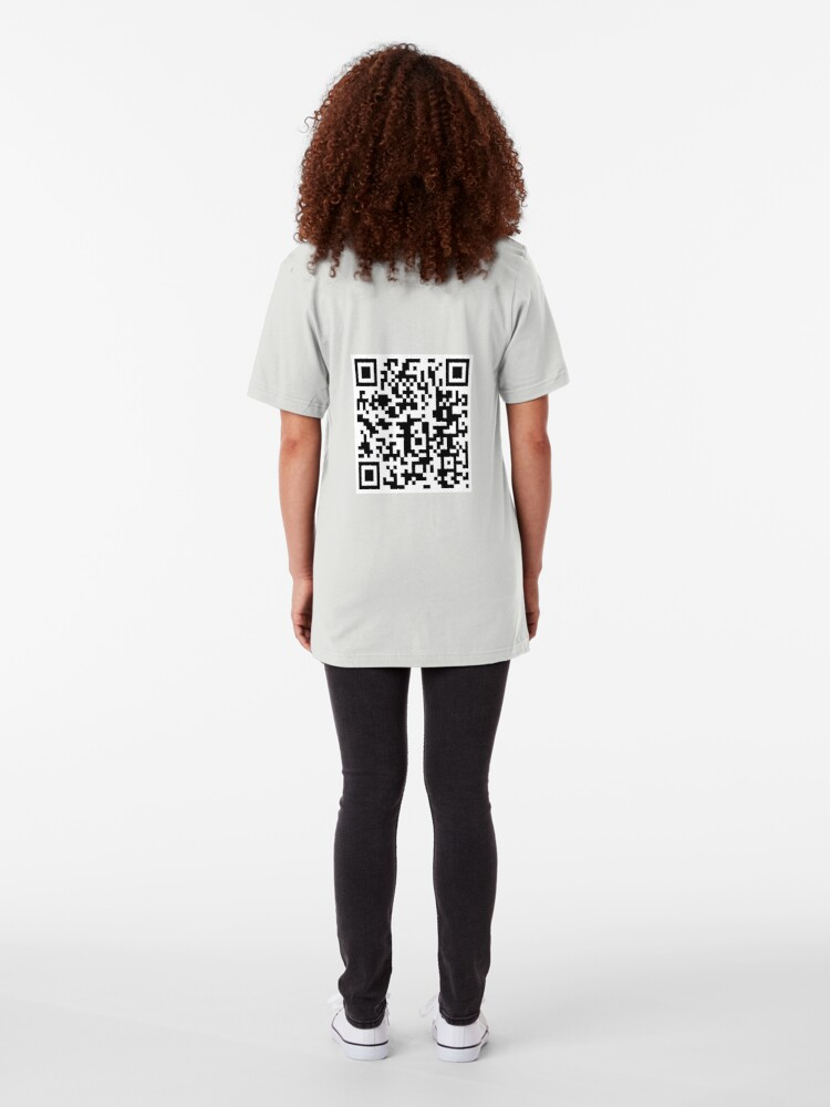 Alternate view of QR Code Slim Fit T-Shirt