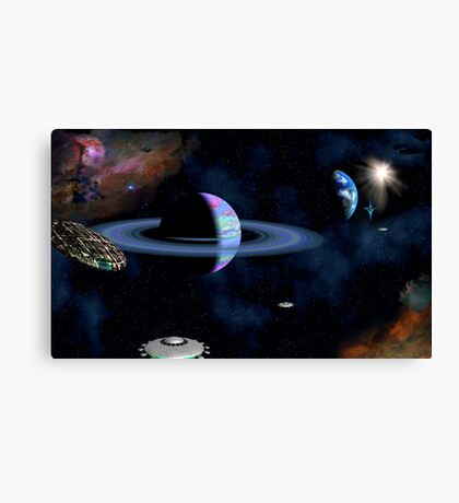 Jump Station Beta Canvas Print
