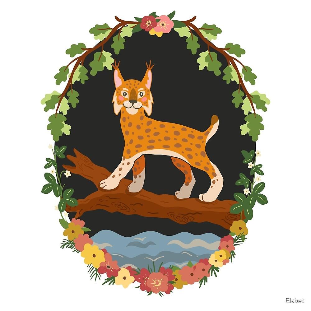Lynx by Elsbet