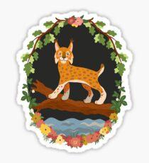 Lynx Glossy Sticker