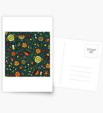 Evening meadow Postcards
