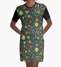 Evening meadow Graphic T-Shirt Dress