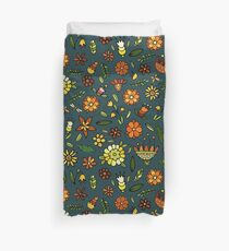 Evening meadow Duvet Cover