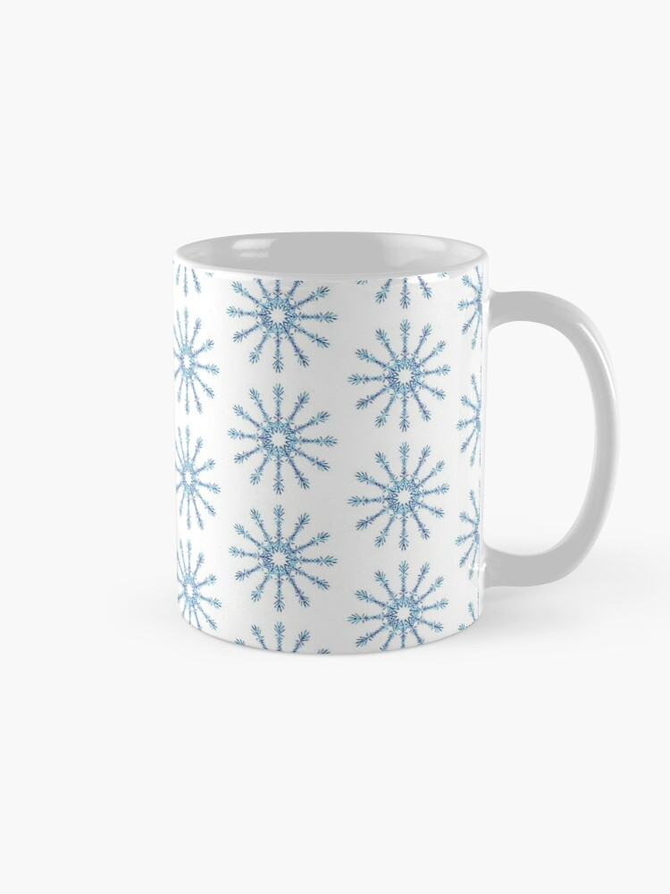 Alternate view of Snowflakes Mug