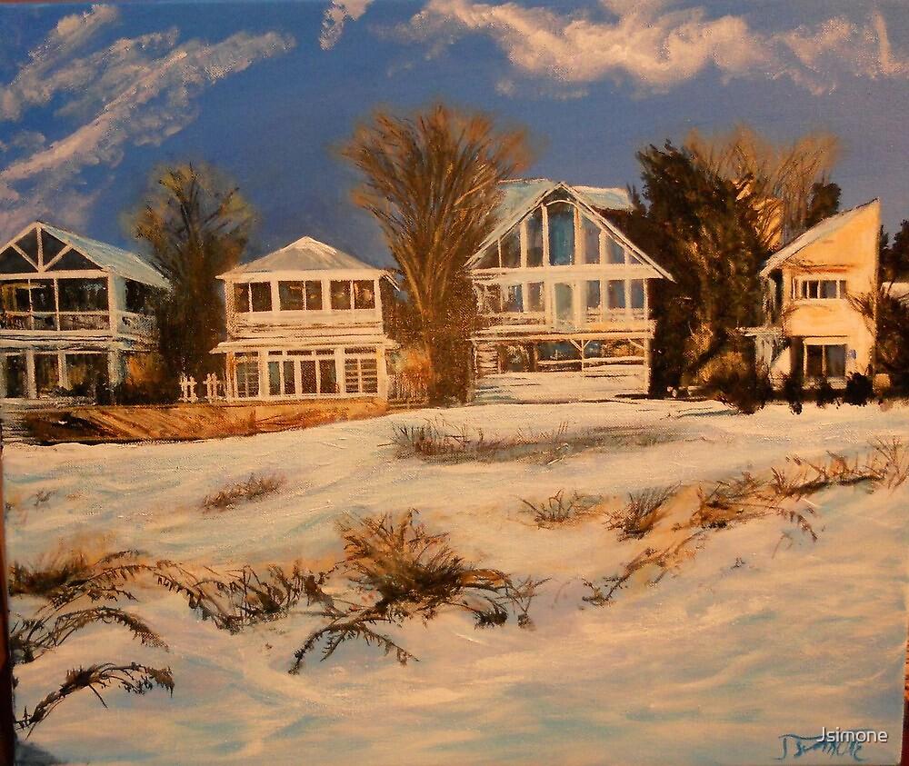 Long Island Winter from Photo by ToriYule by Jsimone
