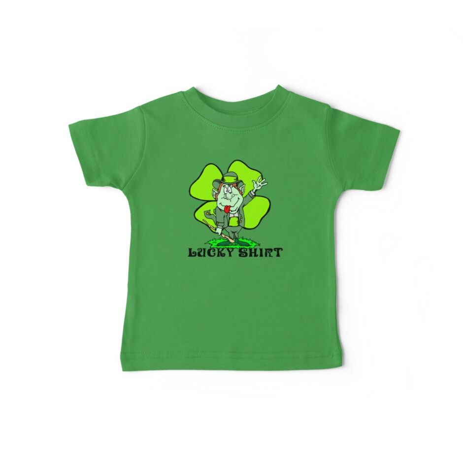 Irish By ShirtsRedbubble Holidayt Shirt Tees Baby Funny Lucky kuZXOPi