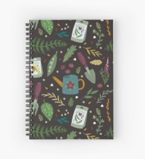 Garden tillage Spiral Notebook