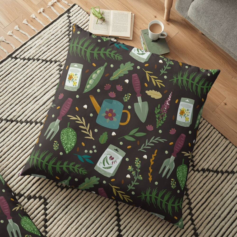 Garden tillage Floor Pillow