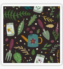 Garden tillage Glossy Sticker
