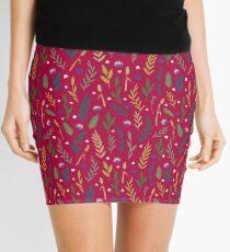 Pink field Mini Skirt