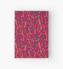 Pink field Hardcover Journal