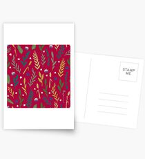 Pink field Postcards