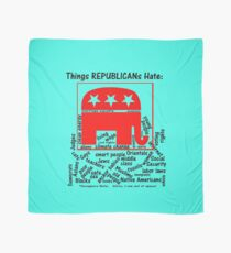 The Republican's Hate List.... Scarf