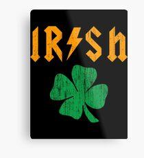 Irish Metal Print