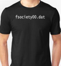 fsociety00.dat - fsociety Unisex T-Shirt