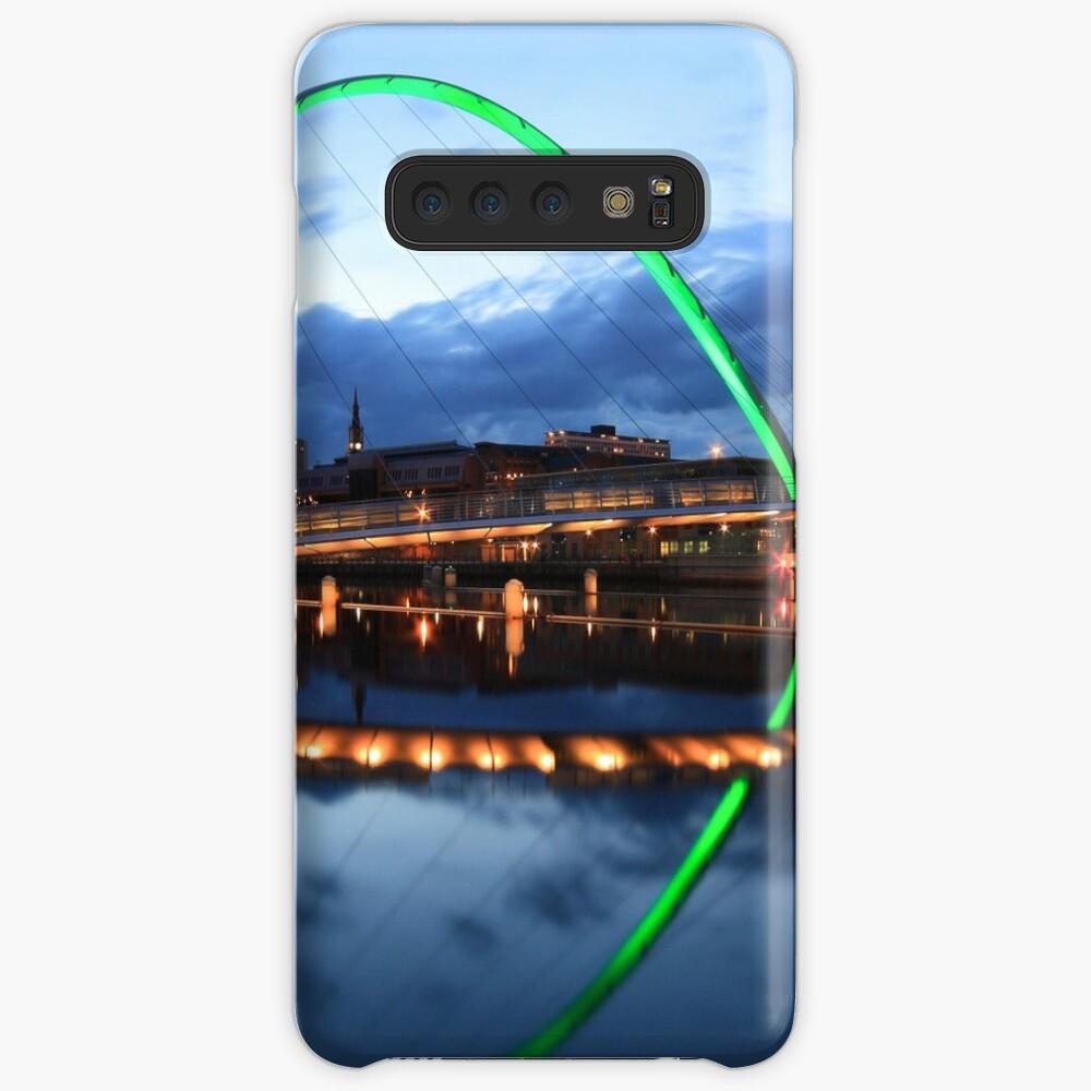 Gateshead Millennium Bridge, Reflections Case & Skin for Samsung Galaxy