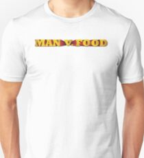 Man Vs Food logo Unisex T-Shirt